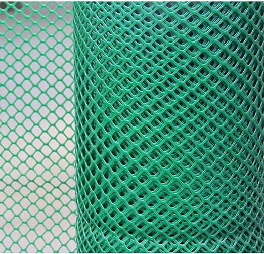 Malla de Plástico for Jardín, Actualización for Niños Malla de Seguridad de Plástico, Excelente Valla de Jardín Red de Cría Red de Aislamiento de Animales / Separación de Rejilla 1.8 cm /Verde:
