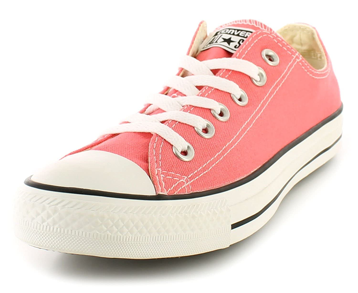 df2632461a23 Converse New Ladies Womens Pink Canvas Chuck Taylor Lace Ups Trainers. - Carnival  Pink - UK Size 7.5  Amazon.co.uk  Shoes   Bags