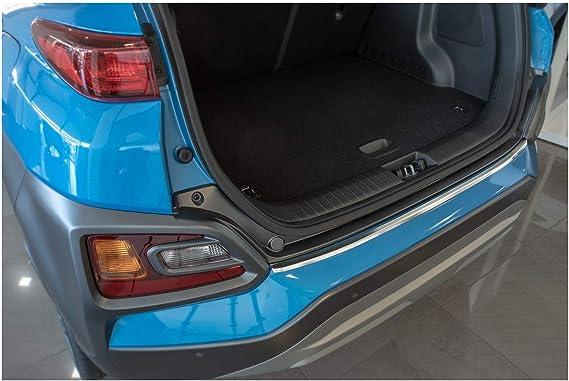 Tuning Art L365 Edelstahl Ladekantenschutz 5 Jahre Garantie Farbe Silber Auto