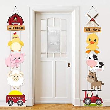 Amazon.com: Decoración de fiesta temática de animales de ...
