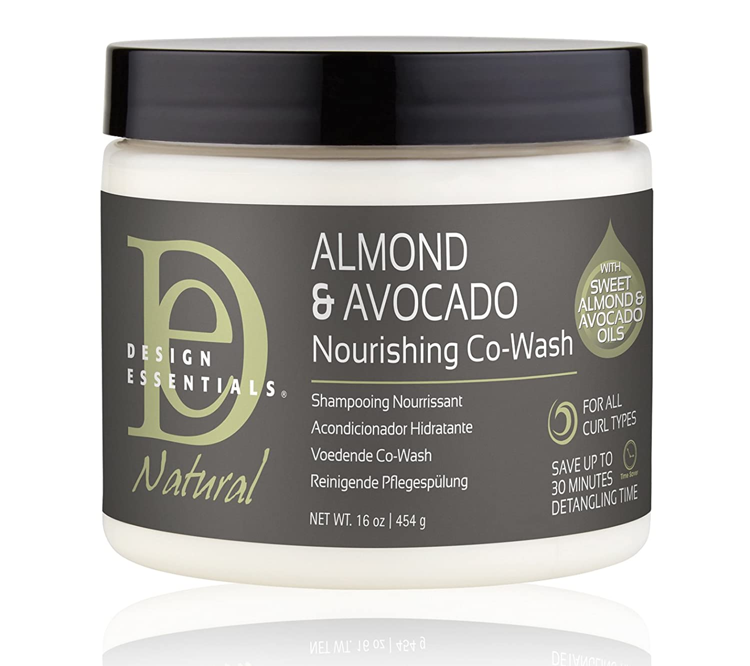 Bilderesultat for design essentials almond and avocado co-wash