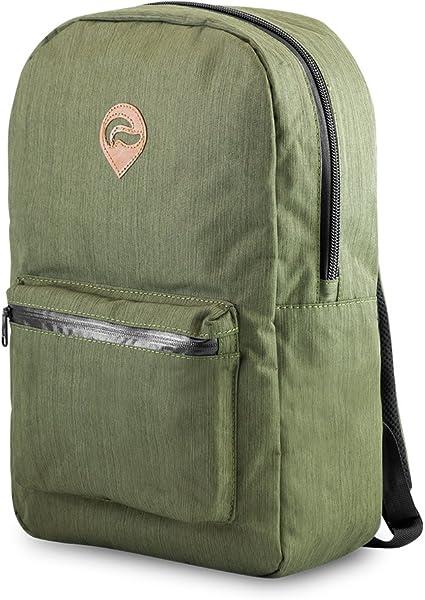 Weather Resistant Skunk Element School Backpack Smell Proof