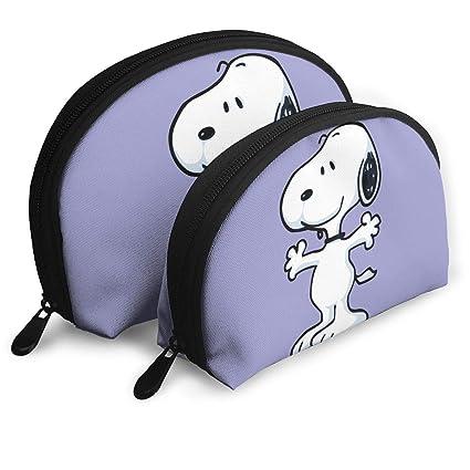Amazoncom Jinunnu Makeup Bag Snoopy Cosmetic Pouch Clutch Portable