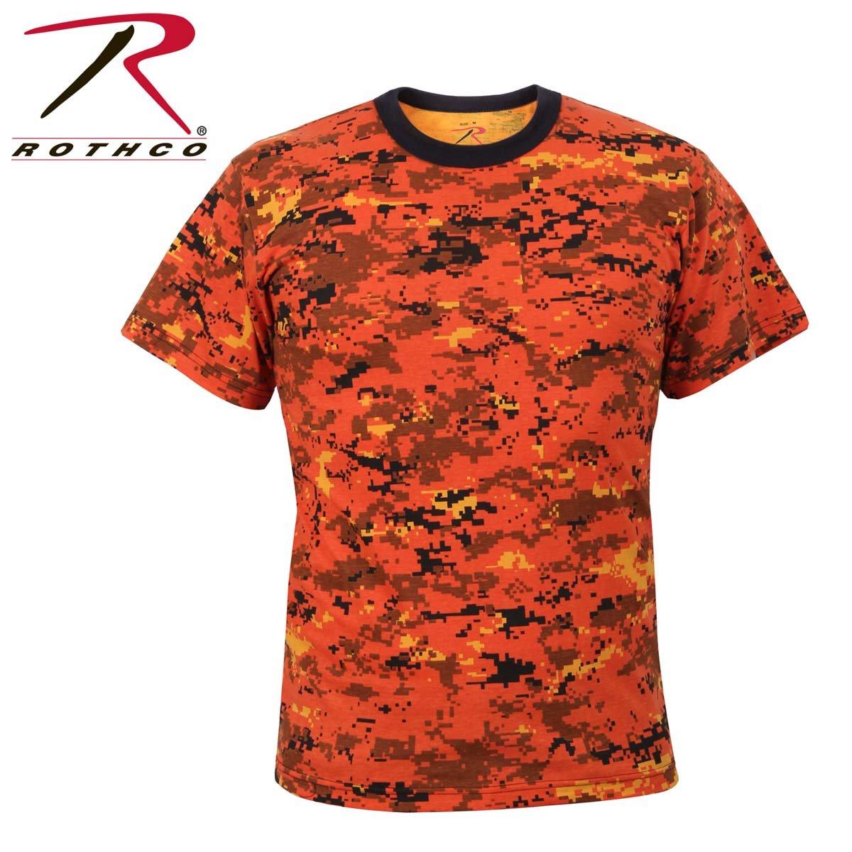 Amazon.com  Rothco Colored Camo T-Shirts  Sports   Outdoors ec05afde15c