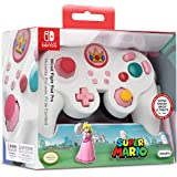PDP 500-100-NA-D5 Nintendo Switch Super Mario Bros Princess Peach GameCube Style Wired Fight Pad Pro Controller