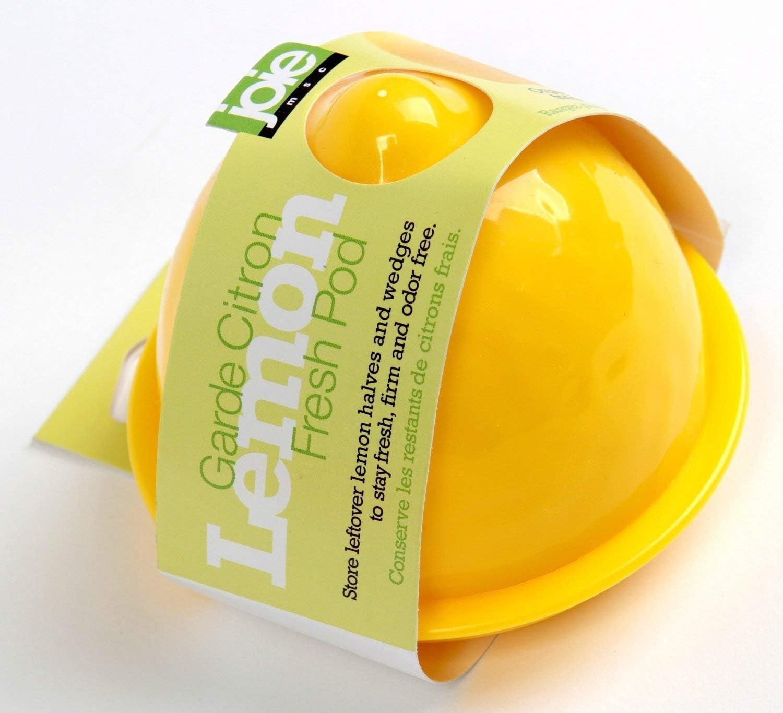 Plastic Yellow Joie Kitchen Gadgets 31315 Joie Lemon Fresh Pod