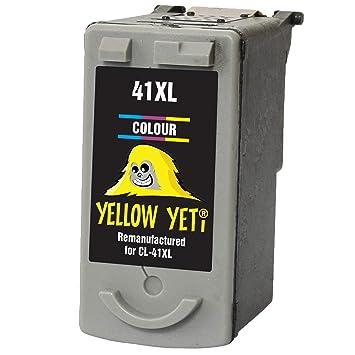 Yellow Yeti CL-41 Cartucho de Tinta remanufacturado Color para ...