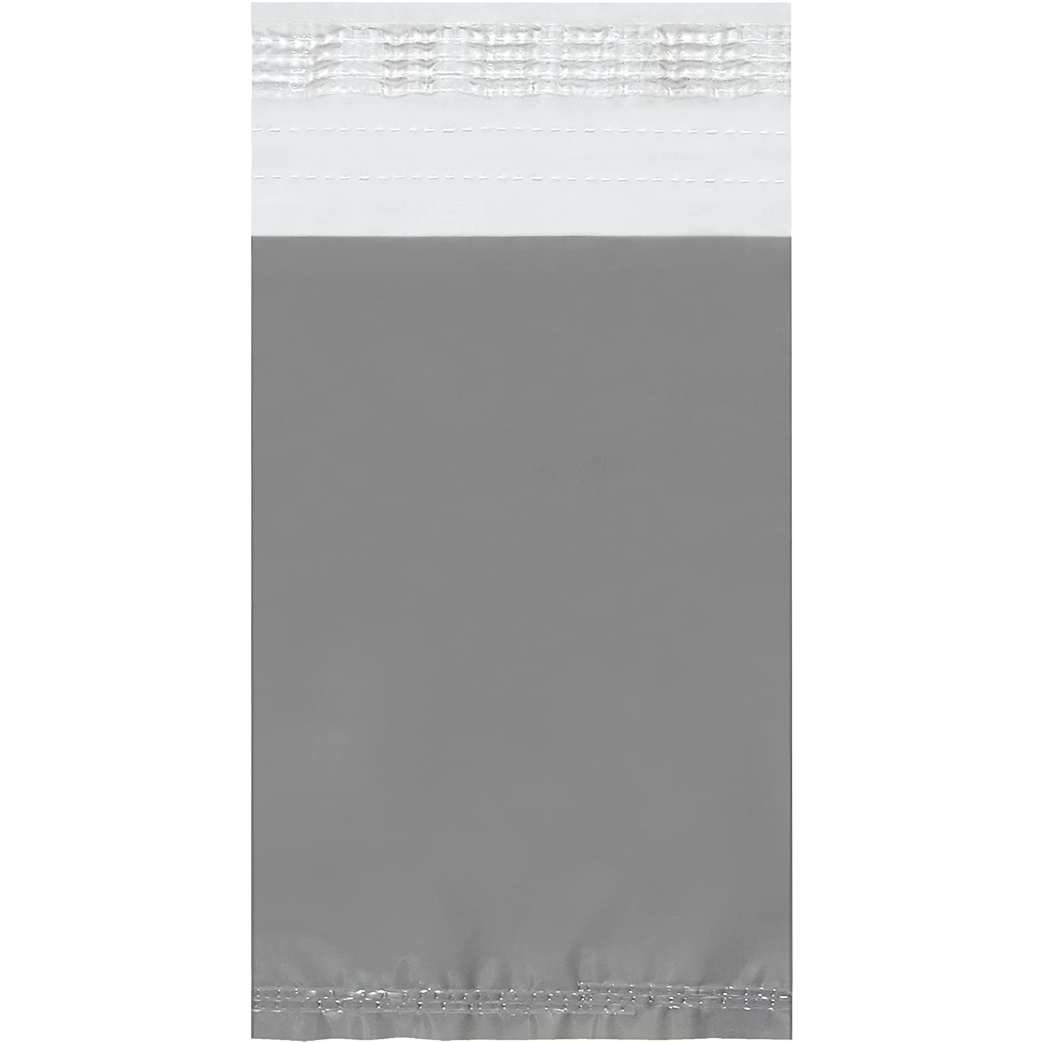 100//Case Clear View Poly Mailers 5 x 7 Clear//White
