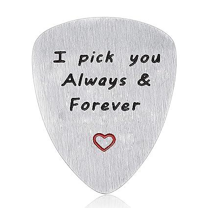 Husband Boyfriend Gifts Guitar Picks Gifts for Musician Husband Boyfriend Dad Valentineu0027s Day Gift for  sc 1 st  Amazon.com & Amazon.com: Husband Boyfriend Gifts Guitar Picks Gifts for Musician ...