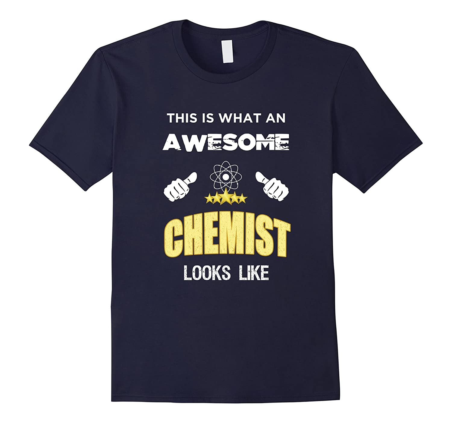 Awesome Chemist Funny Science Gifts T-Shirt-TD