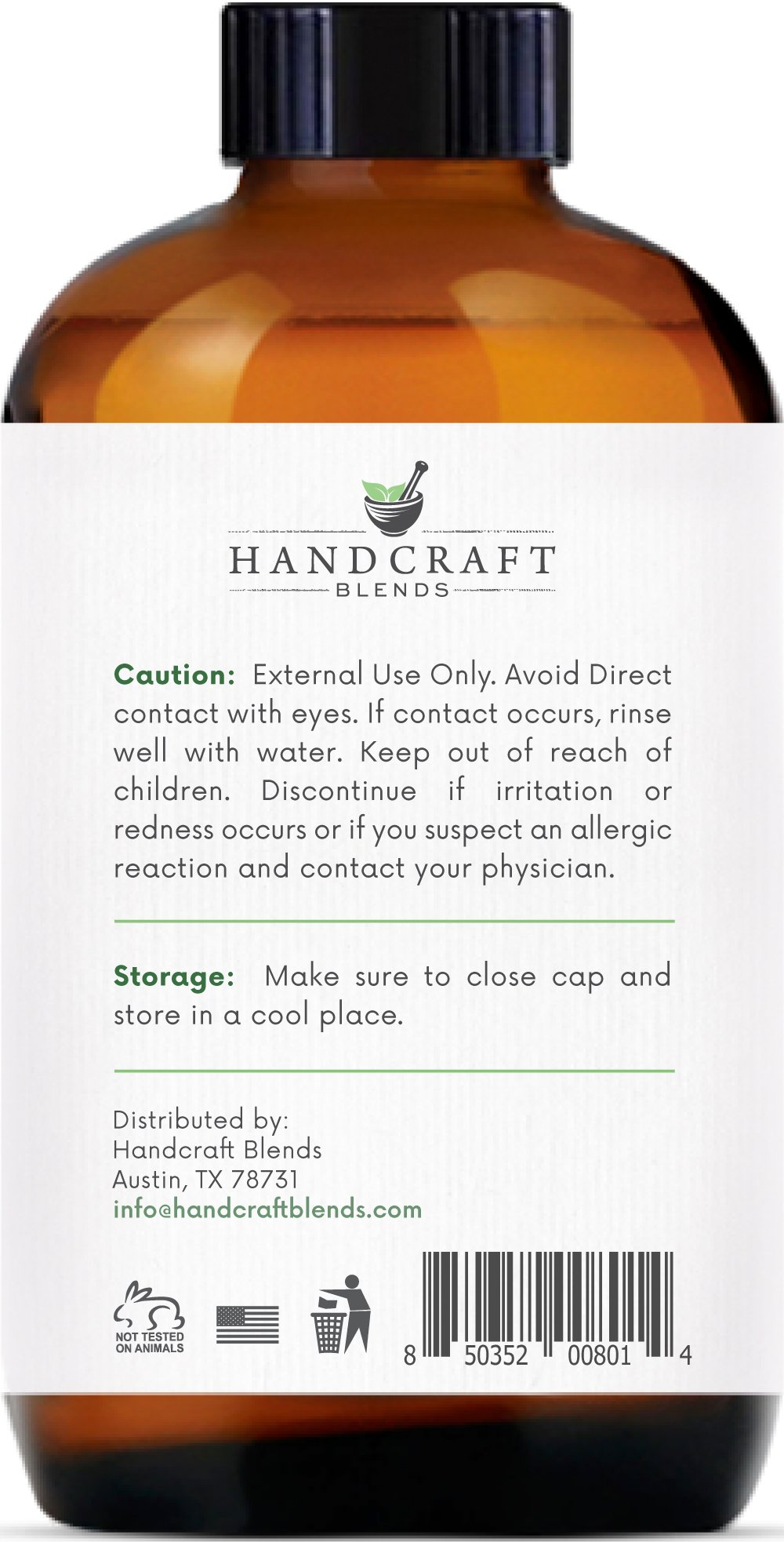 Handcraft Tea Tree Essential Oil - Huge 4 OZ - 100% Pure & Natural – Premium Therapeutic Grade with Premium Glass Dropper by Handcraft Blends (Image #2)