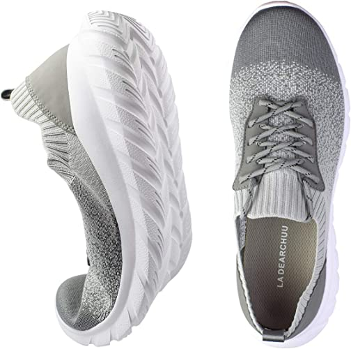 Athletic Shoes Knit Mesh Walking Shoes