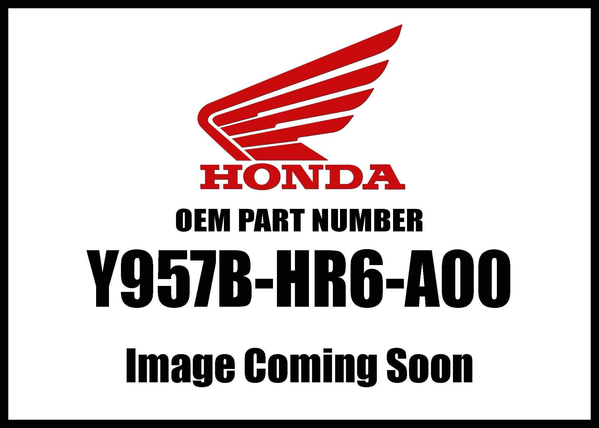 Honda Accy Bolt Flange 8X25 Y957b-Hr6-A00 New Oem