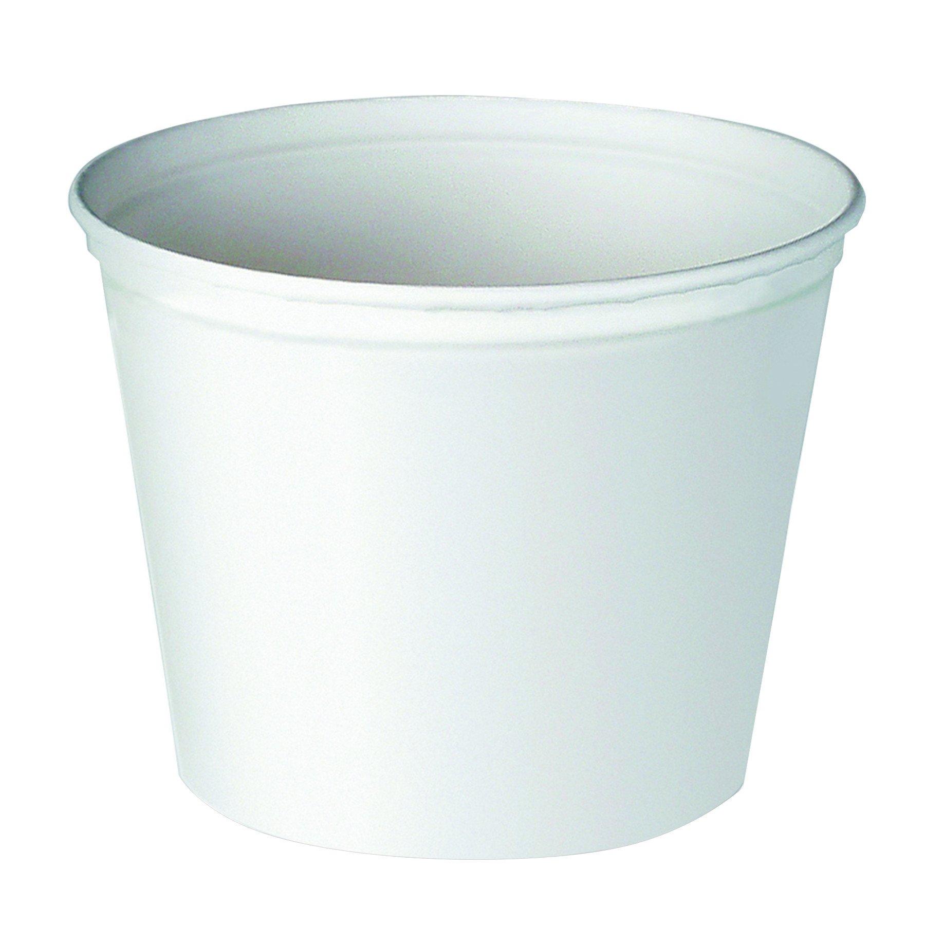 Solo 10T3-N0199 165 oz Unprinted Paper Bucket (Case of 100)