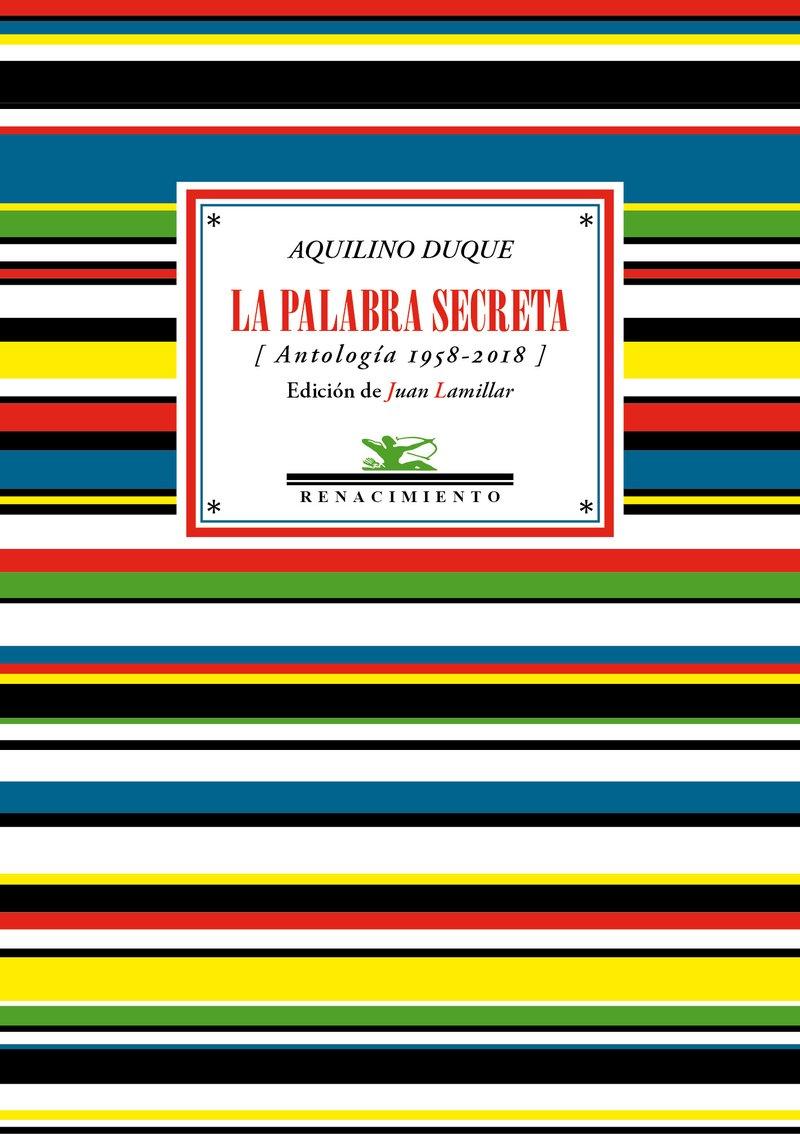 La palabra secreta: Antología 1958-2018 Antologías: Amazon.es ...