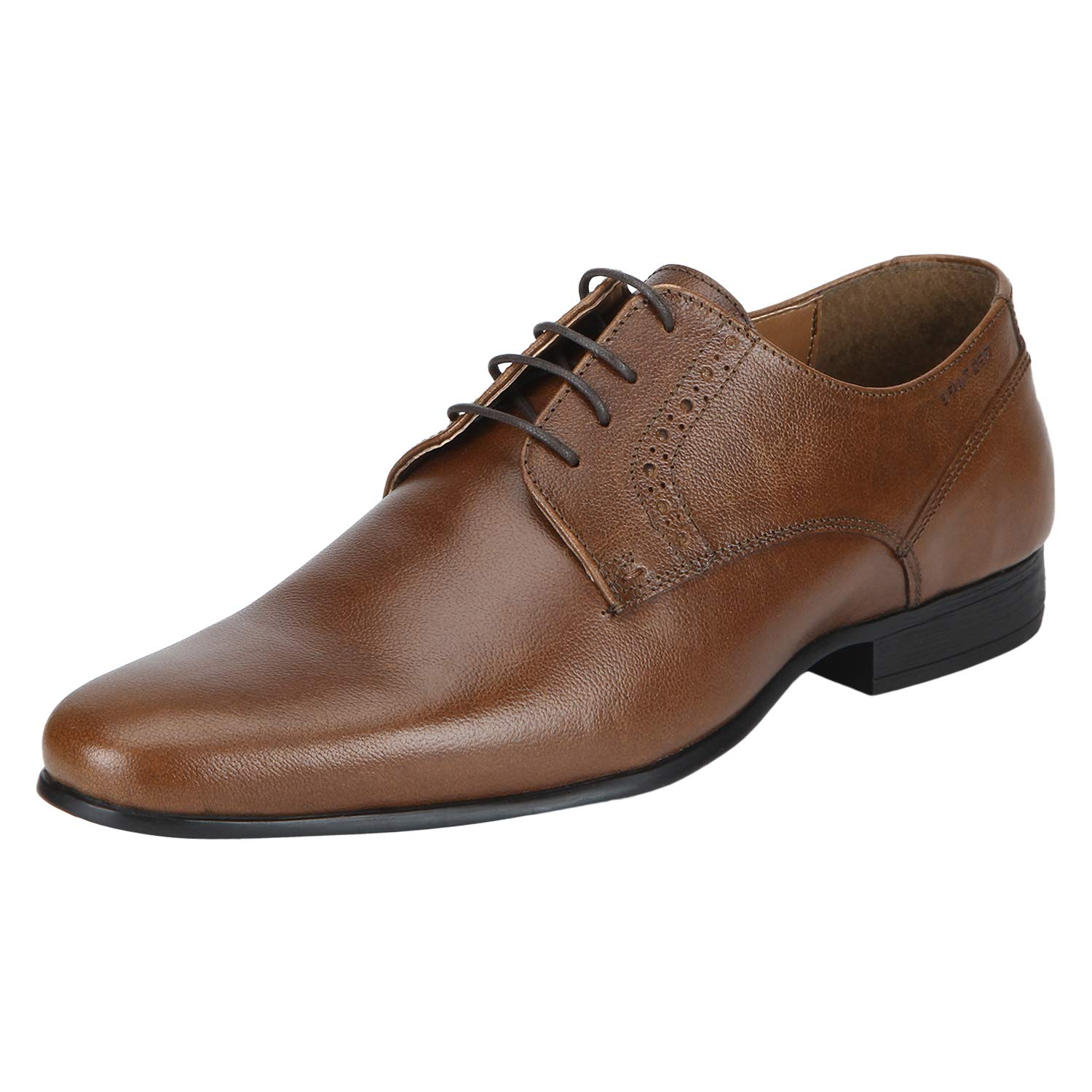 Red Tape Men's Tan Leather Formal Shoes