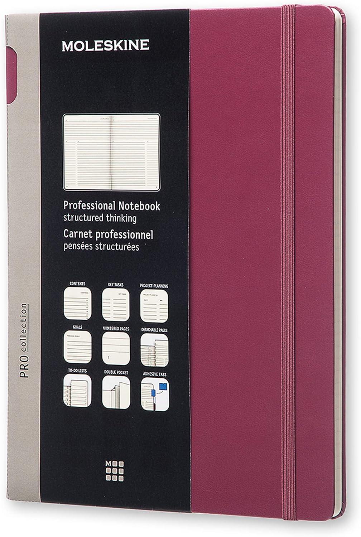Moleskine Pro - Cuaderno profesional de tapa dura, color morado ...