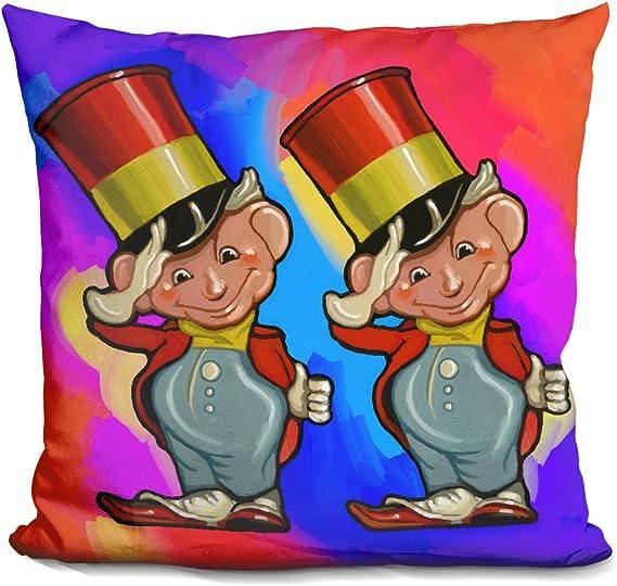 LiLiPi Footloose Decorative Accent Throw Pillow
