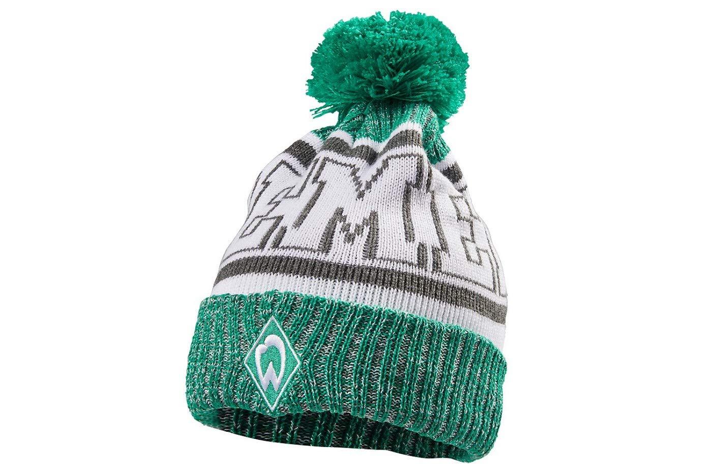 Werder Bremen SV M/ütze//Strickm/ütze ** Bommel **