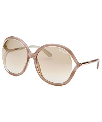 fda7c0040f5e Amazon.com  Tom Ford FT0252 Brown Gold Sunglasses 59mm  Shoes