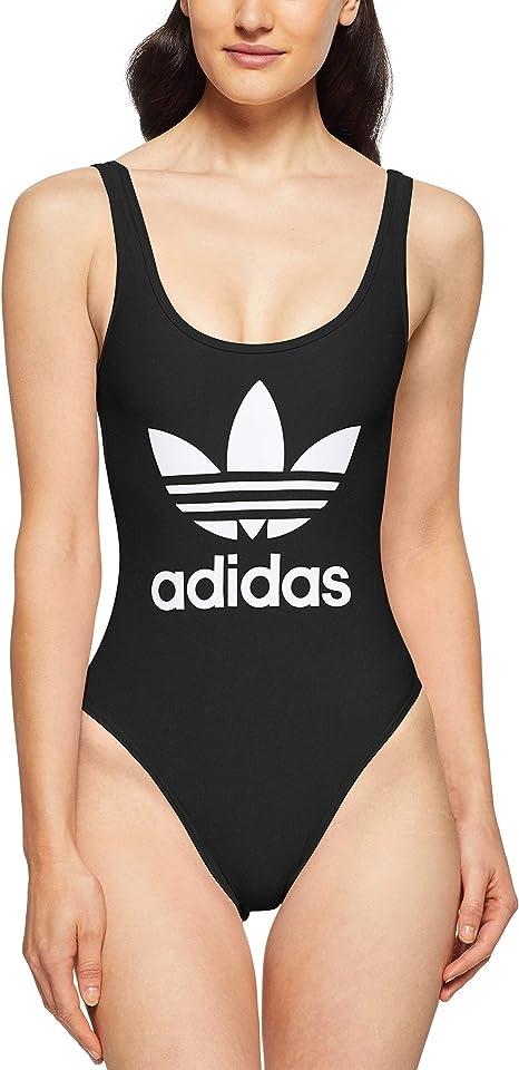 adidas Damen Badeanzug 3 Stripes Trefoil