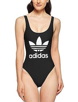 34af529d4c adidas Trefoil Maillot de Bain Femme: Amazon.fr: Sports et Loisirs