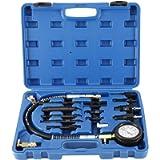 8MILELAKE 1000psi Diesel Direct & Indirect Engine Compression Pressure Tester Gauge Test Tool Kit