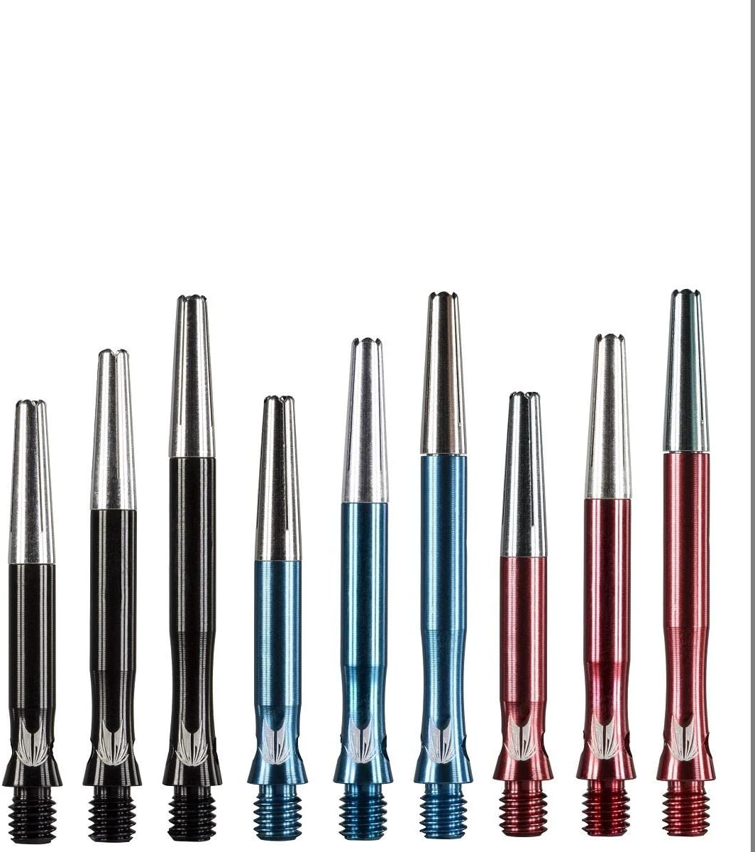 2 Pack Top Spin Aluminum Dart Shafts Short Choose Your Color w// FREE Shipping