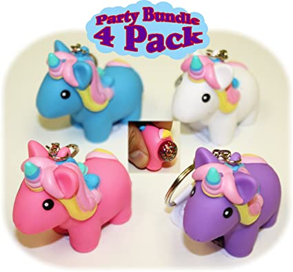 Amazon.com  Animolds PooPoo Unicorn (Glitter Pooping Unicorns) Keychains  Pink 59eba2eb42