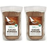 Healthworks Cacao Powder Organic, 2lb (2 1lb Packs)