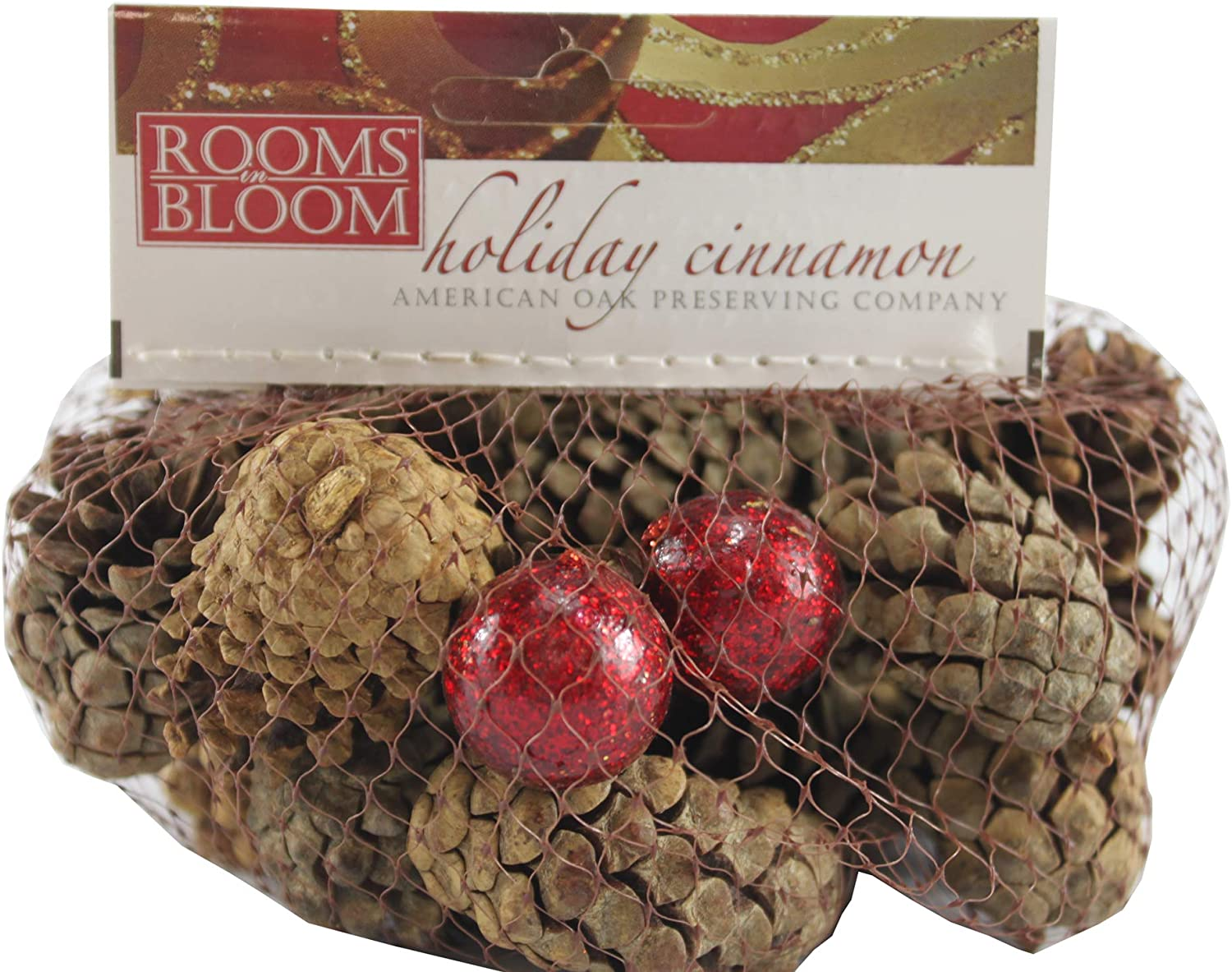 Rooms in Bloom Holiday Cinnamon
