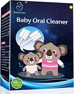 Baby Toothbrush,Infant Toothbrush,Baby Tongue Cleaner,Infant Toothbrush,Baby Tongue Cleaner Newborn,Toothbrush Tongue Cleaner Dental Care for 0-36 Month Baby,36 Pcs + Free 4 Pcs