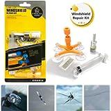 GLISTON Car Windshield Repair Kit, Auto Glass Repair Kit for Chips and Cracks, Star-Shaped, Bulls-Eye, Nicks, Half-Moon…