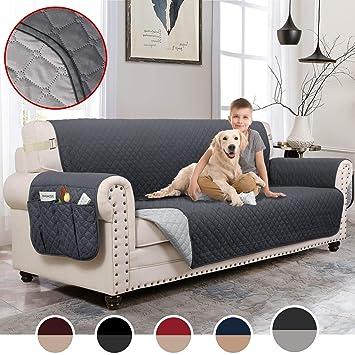 Amazon.com: MOYMO - Funda de sofá reversible para sala de ...