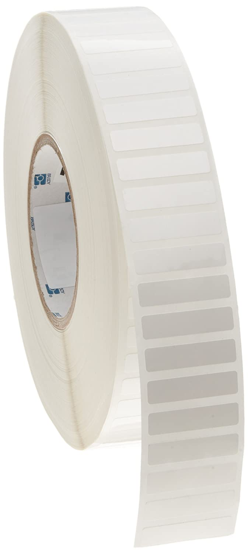 B-422 Permanent Polyester Brady THT-102-422-10 1.5 Width x 0.37 Height Gloss Finish White Thermal Transfer Printable Label Brady Worldwide Inc. 10000 per Roll