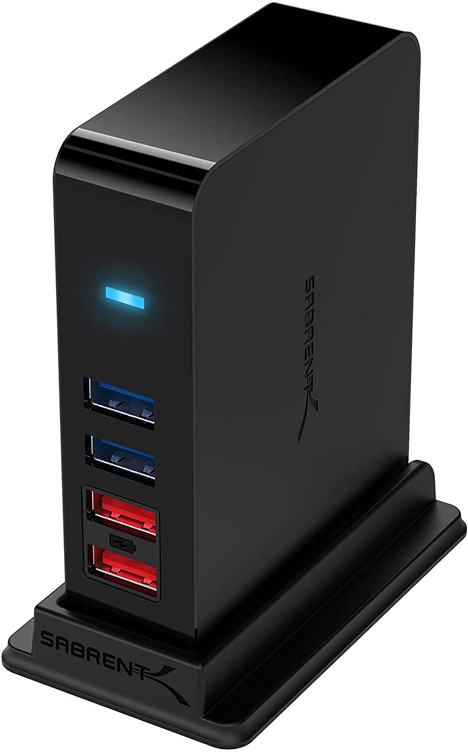 Sabrent 36W 7-Port USB 3.0 Hub with Individual Power Switches