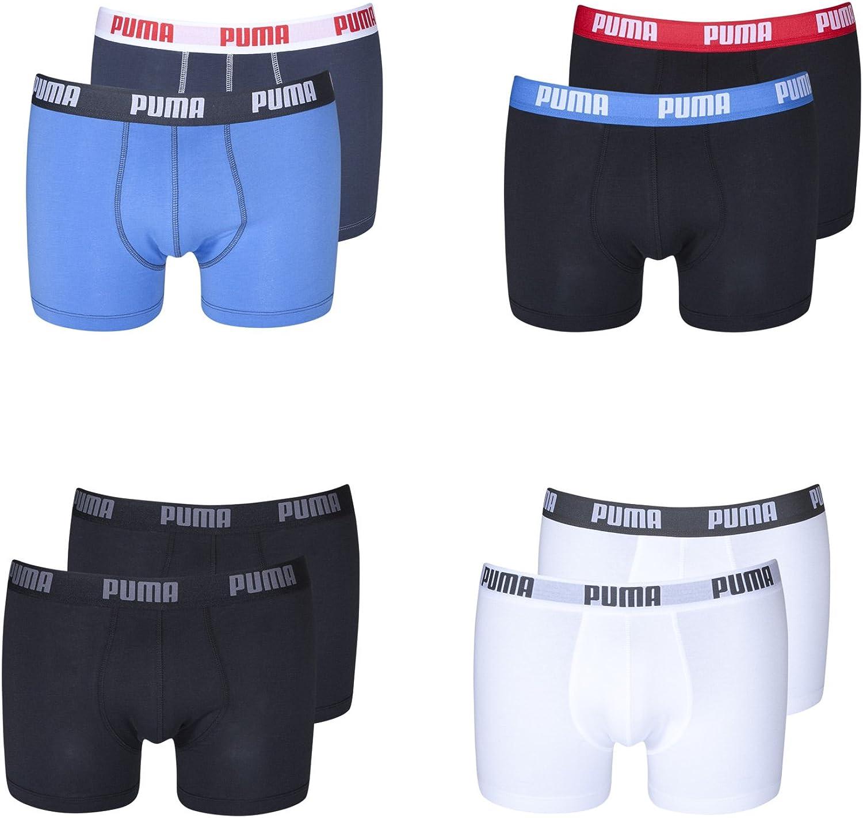 Puma 4 Pack bóxers ropa interior para mujer para hombre S M L XL en diferentes colores: Amazon.es: Ropa y accesorios