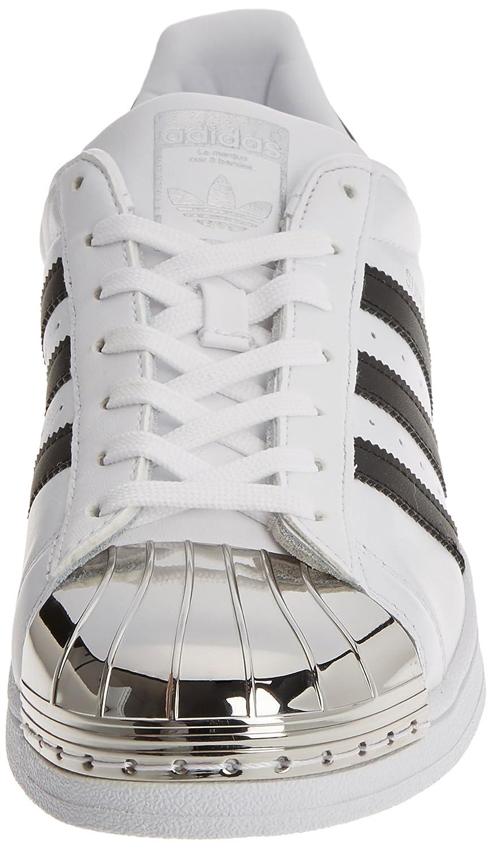 Adidas Toe, Superstar Blanco Blanco Metal Toe, Adidas Zapatillas Para Mujer 881d1a