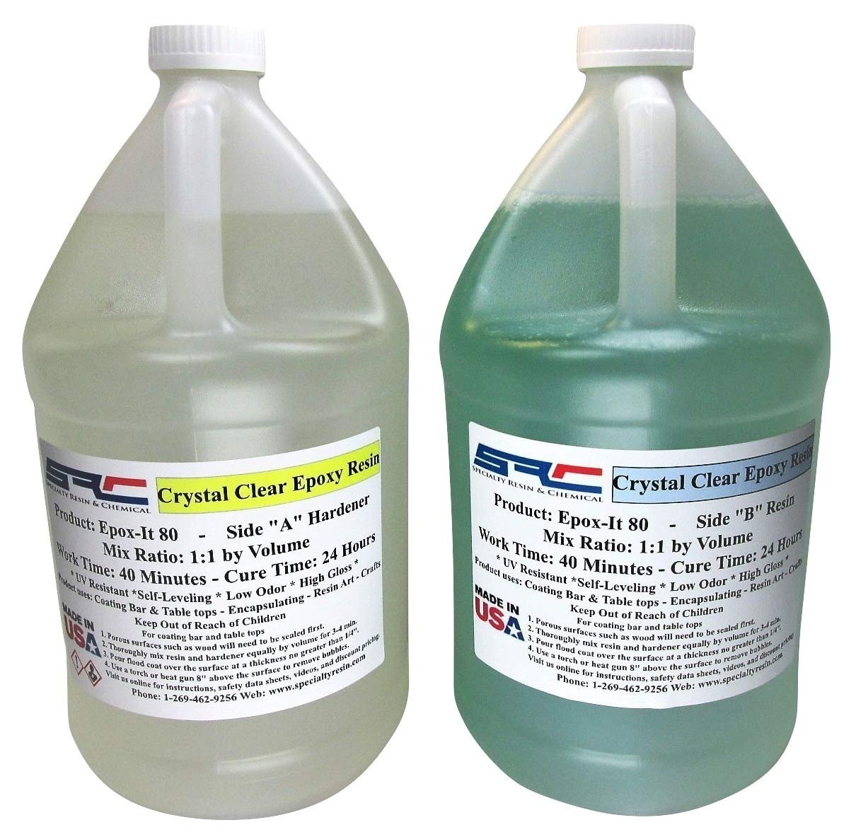 Clear Epoxy Resin for Bar Tops, Encapsulating, or Casting (2