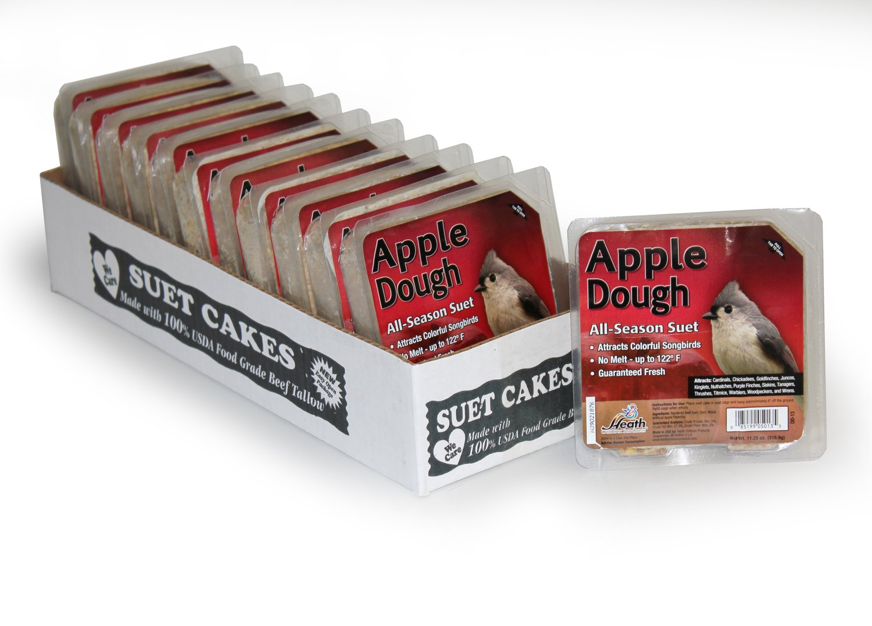 Heath Outdoor Products DD-13 Apple Dough Suet Cake, Case of 12