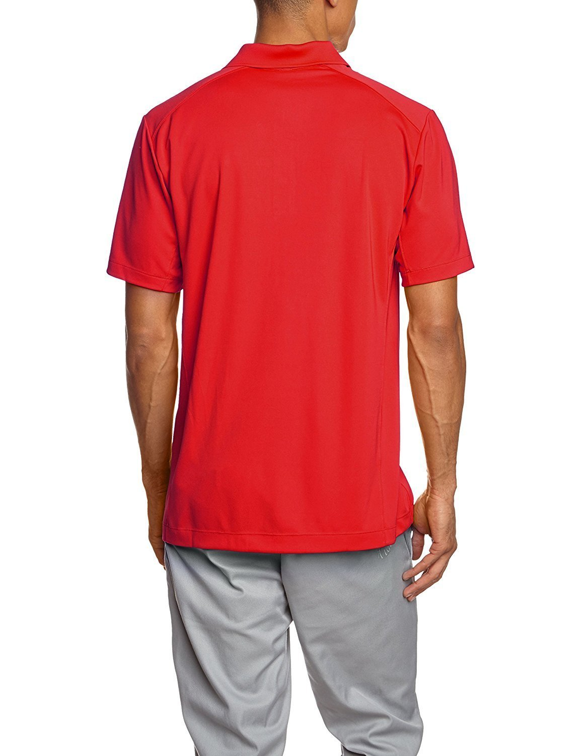 Nike Men's Golf Dri-fit Victory Polo Red 818050 657 (XL) by Nike (Image #2)