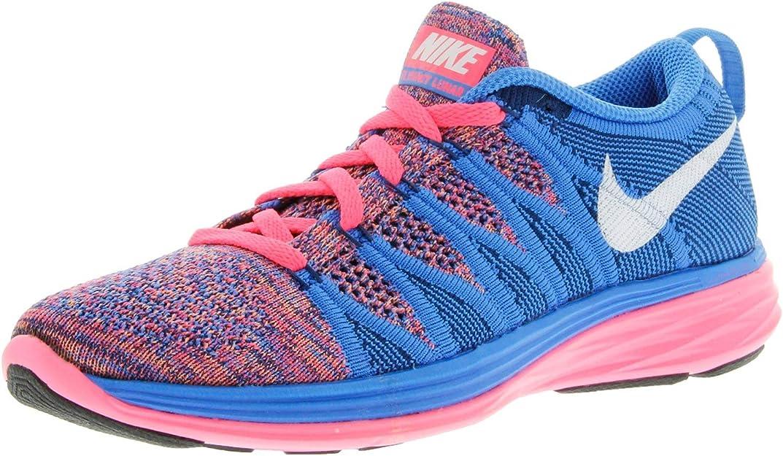 Nike Women's Flyknit Lunar2 Running Training Shoes