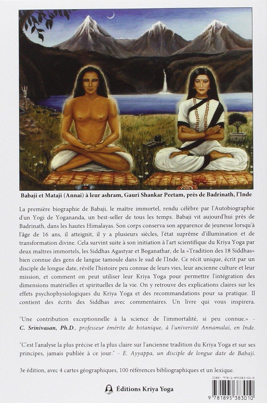 Babaji et la tradition du kriya yoga des 18 siddhas - 3e ...