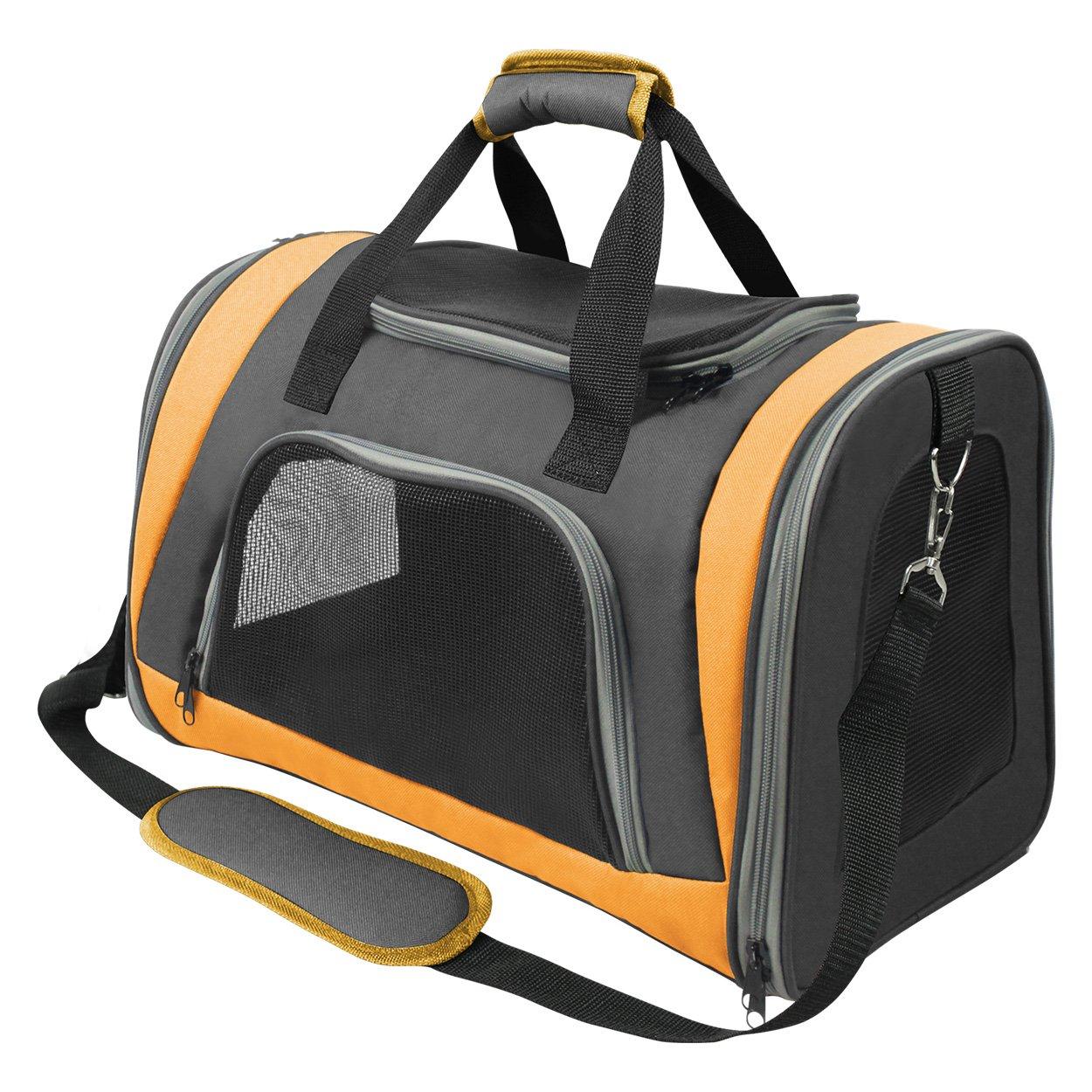 Animal Treasures 31118 Easy Go Soft Carrier, orange
