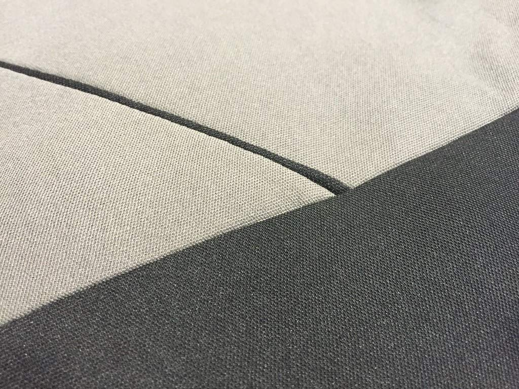 Kadjar Zeo Clio Twingo Scenic Xtremeauto Grey and Black Sport Car Seat Cover Protectors Captur Megane Koleos