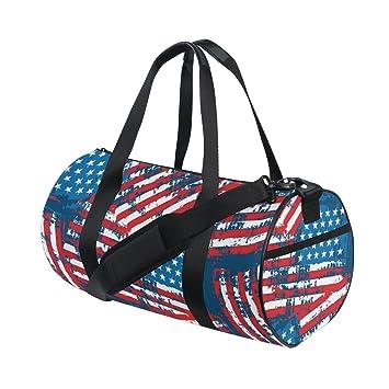 Amazon.com: naanle bandera americana patrón patriótico ...