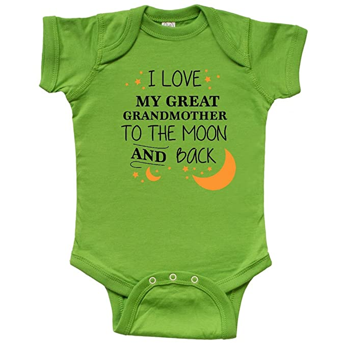 amazon com inktastic i love my great grandmother to the moon and