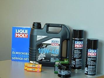 MotorFunSports Mantenimiento Set Suzuki GSF 650 Bandit aceite de aceite Bujía Inspección 2005 - 2006: Amazon.es: Coche y moto