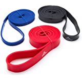 Black Mountain Products Strength Loop Resistance Exercise Bands, Pack of 3
