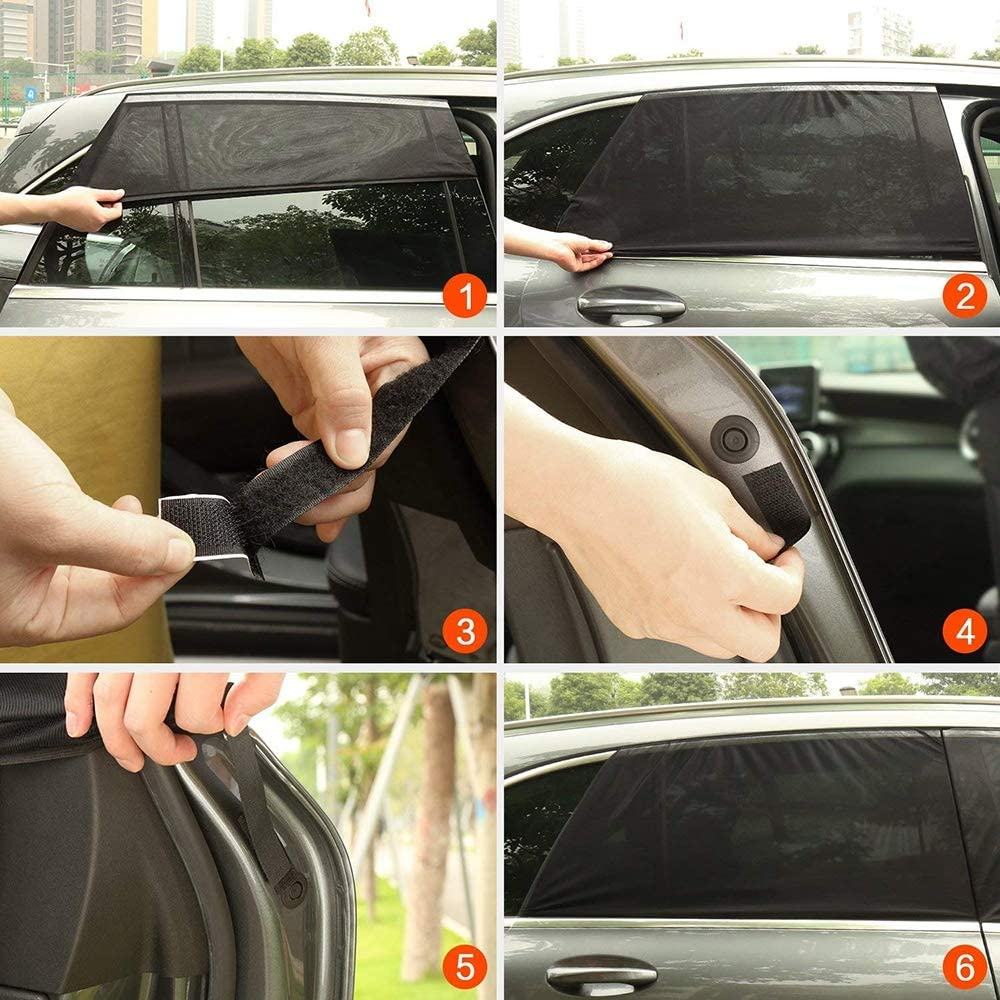 Shield  Cover  Car Sunshade Curtain With Uv Protection Sun Shade Side Window